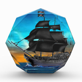 PIRATE SHIP AT SUNSET AWARD