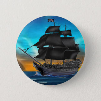 PIRATE SHIP AT SUNSET BUTTON
