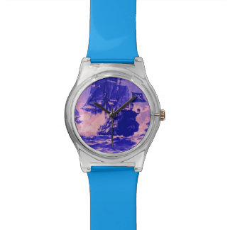 PIRATE SHIP BATTLE IN BLUE WATCHES