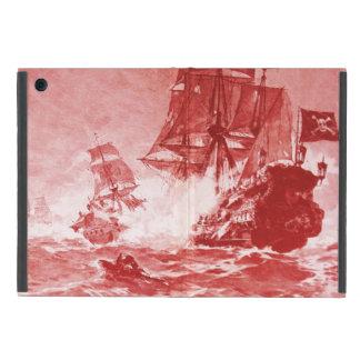 PIRATE SHIP BATTLE IN purple Cover For iPad Mini