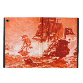 PIRATE SHIP BATTLE IN red Powis iPad Air 2 Case
