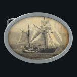 """Pirate ship Belt Buckle<br><div class=""""desc"""">Photo taken by me. Perfect for any pirate or ship lover</div>"""