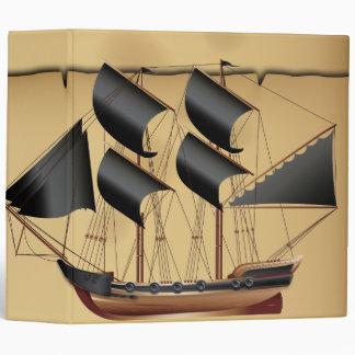 Pirate Ship Binder