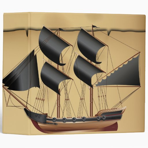 Pirate Ship Binders