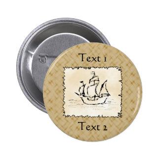 Pirate Ship Pin