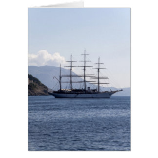 Pirate Ship Stationery Note Card