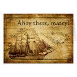 pirate ship card