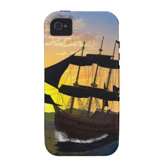 Pirate ship iPhone 4/4S cases