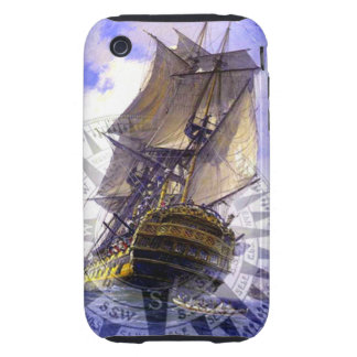Pirate Ship Tough iPhone 3 Cover