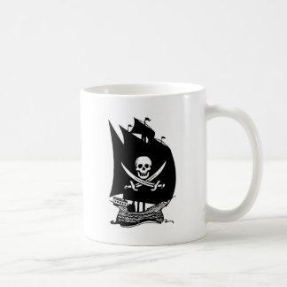Pirate Ship Classic White Coffee Mug
