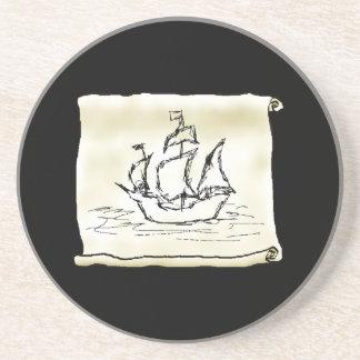 Pirate Ship. Coaster