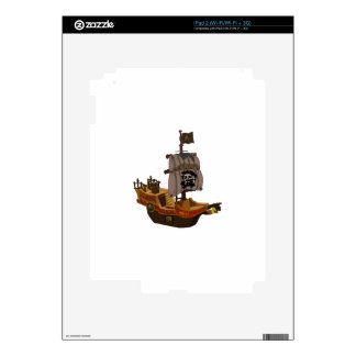 Pirate Ship Decal For iPad 2