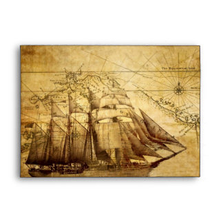 pirate ship envelope