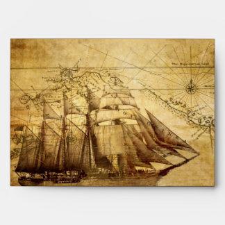 pirate ship envelope