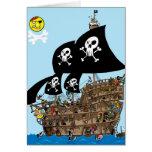 Pirate Ship Escape card