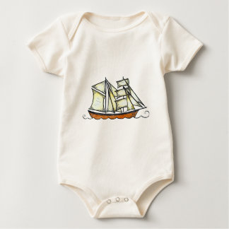 Pirate Ship Garb Baby Creeper