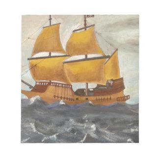 Pirate Ship Getaway Notepad
