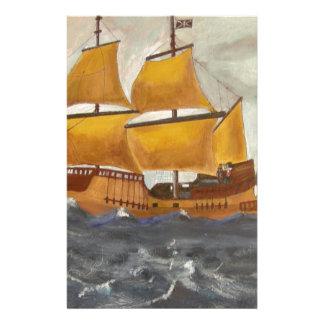 Pirate Ship Getaway Stationery