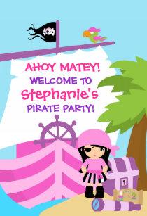 pirate birthday party posters photo prints zazzle