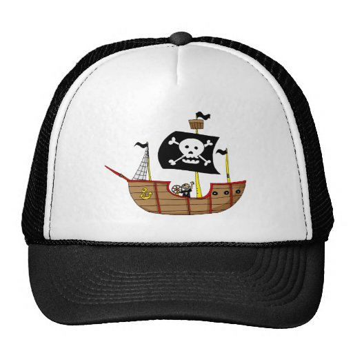 Pirate ship hat