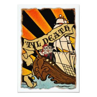 pirate ship invitations