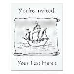 Pirate Ship. Invite