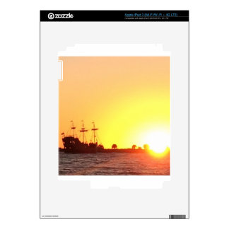 Pirate Ship iPad 3 Decals
