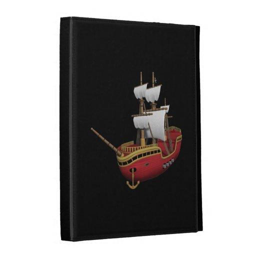Pirate Ship iPad Folio Case