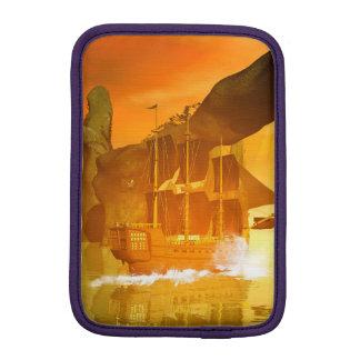 Pirate Ship iPad Mini Sleeve