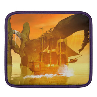 Pirate Ship iPad Sleeve