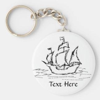 Pirate Ship. Key Chains