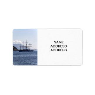 Pirate Ship Address Label