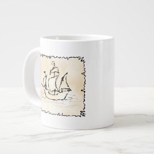 Pirate Ship. Large Coffee Mug