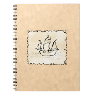 Pirate Ship. Notebooks