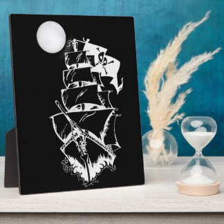 Pirate Ship on the High Seas Photo Plaques