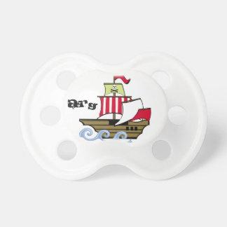 Pirate Ship Pacifier