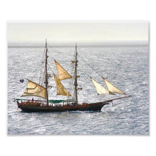 Pirate Ship Photo Print