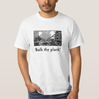 Pirate Ship Plank T-Shirt