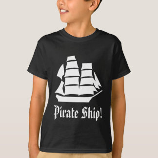 Pirate Ship. Sailing Ship. T-Shirt