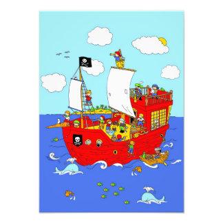 Pirate Ship scene Photo Print