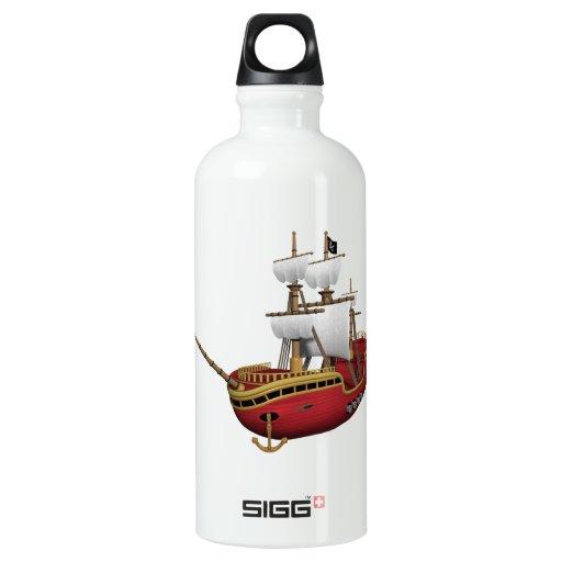 Pirate Ship SIGG Traveler 0.6L Water Bottle