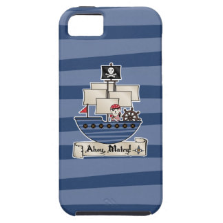 Pirate Ship   Skeleton Skull Pirate   Ahoy Matey! iPhone 5 Cover