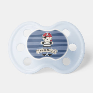 Pirate Ship | Skeleton Skull Pirate | Ahoy Matey! Pacifier