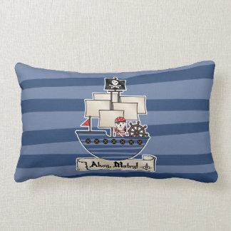 Pirate Ship   Skeleton Skull Pirate   Ahoy Matey! Pillows