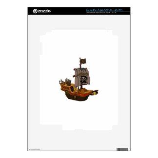 Pirate Ship Skin For iPad 3