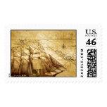 pirate ship stamp