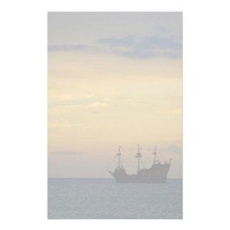 Pirate Ship Stationery