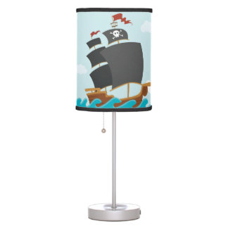 Pirate Ship Table Lamp