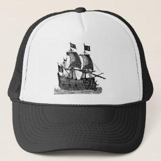 Pirate Ship Trucker Hat
