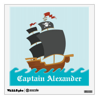 Pirate Ship Wall Sticker